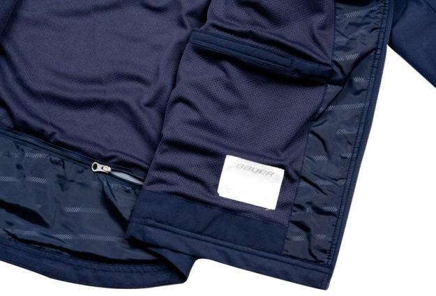 Navy Lightweight Yth. Warm Up Jacket By Bauer
