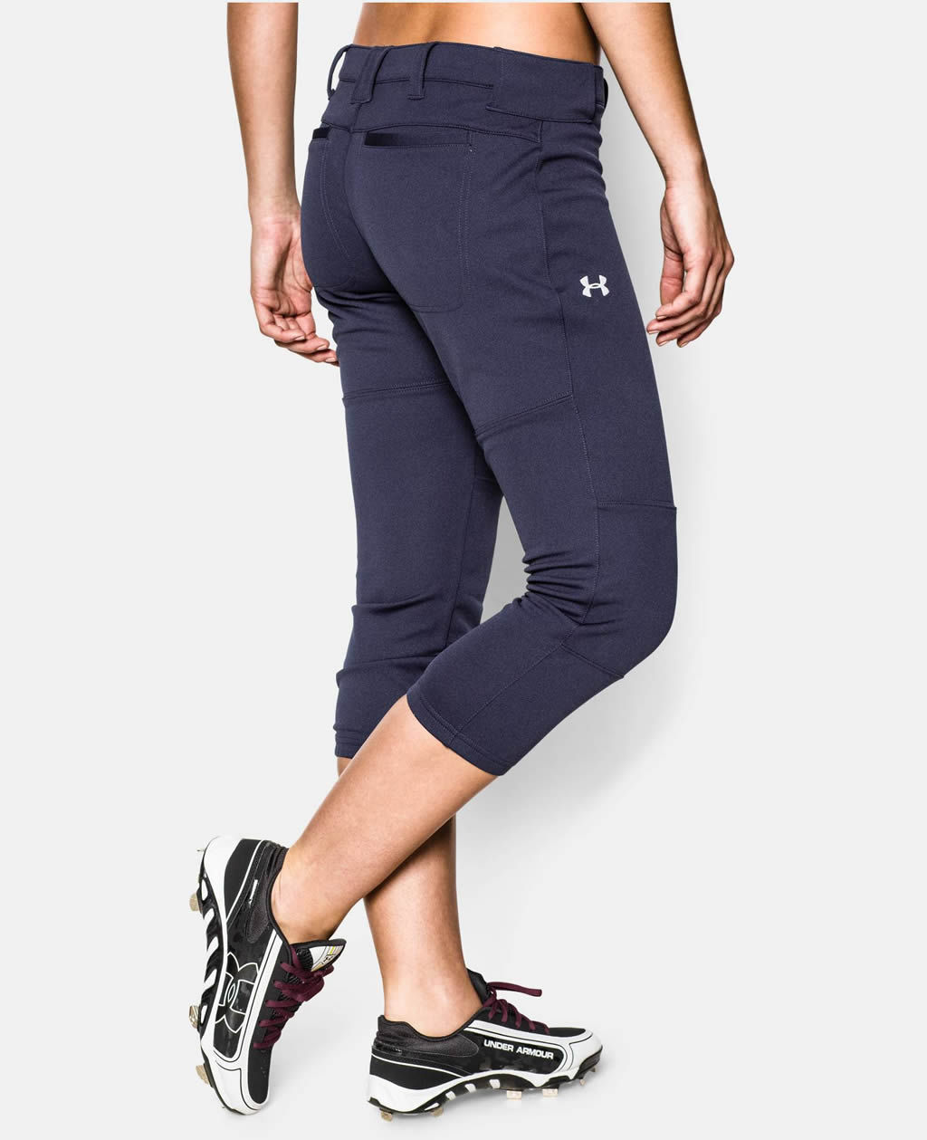 Navy Women's Strike Zone Pant By UA