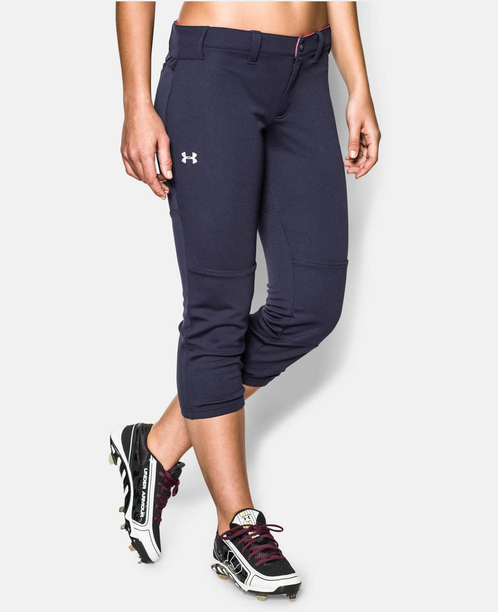 Navy Women's Strike Zone Pant By Under Armour