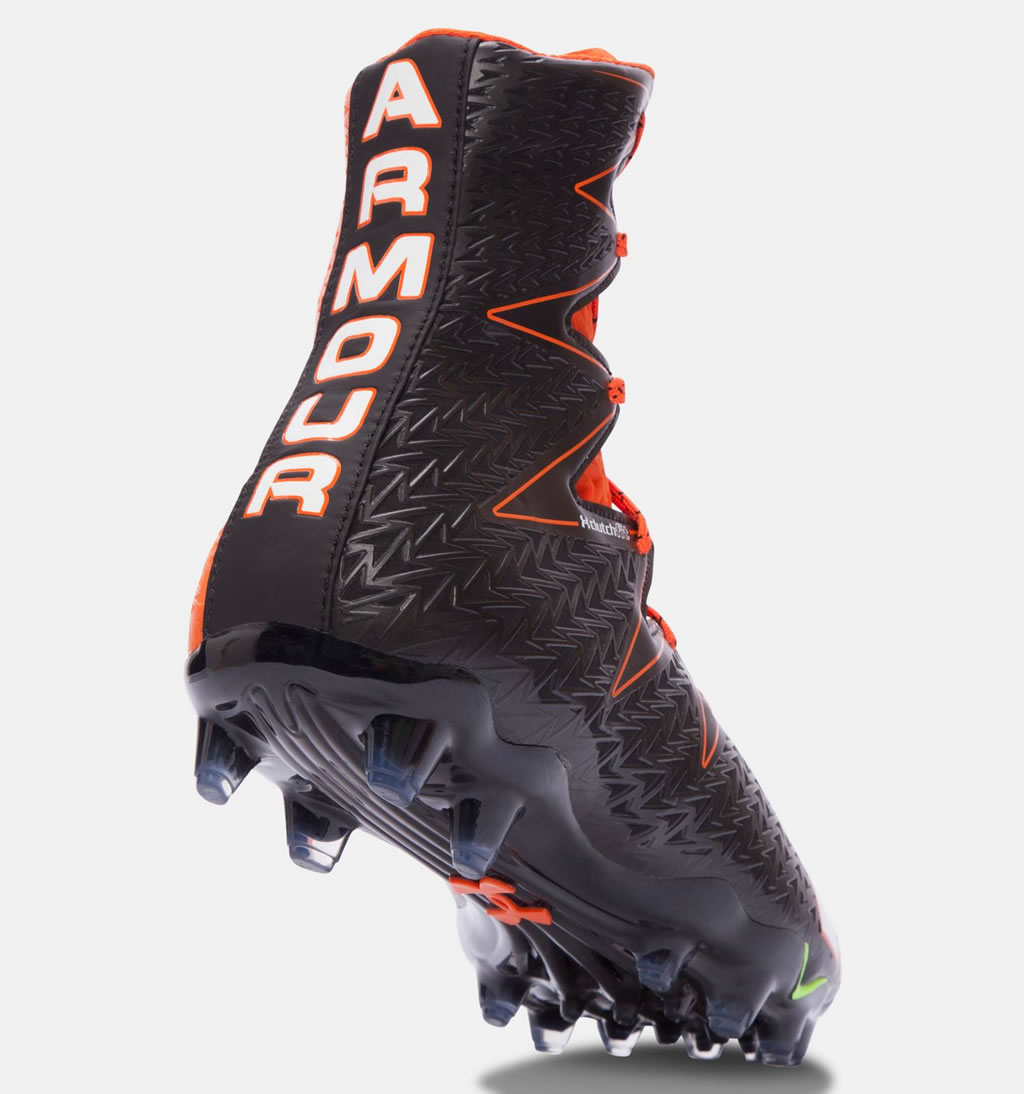 b362cdc64 ... Sole · Orange UA Highlight MC Men s Football Cleats