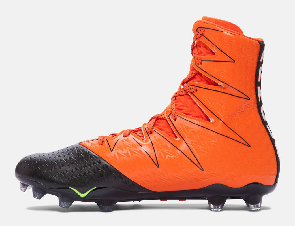 b2b96733e Orange UA Highlight MC Men s Football Cleats