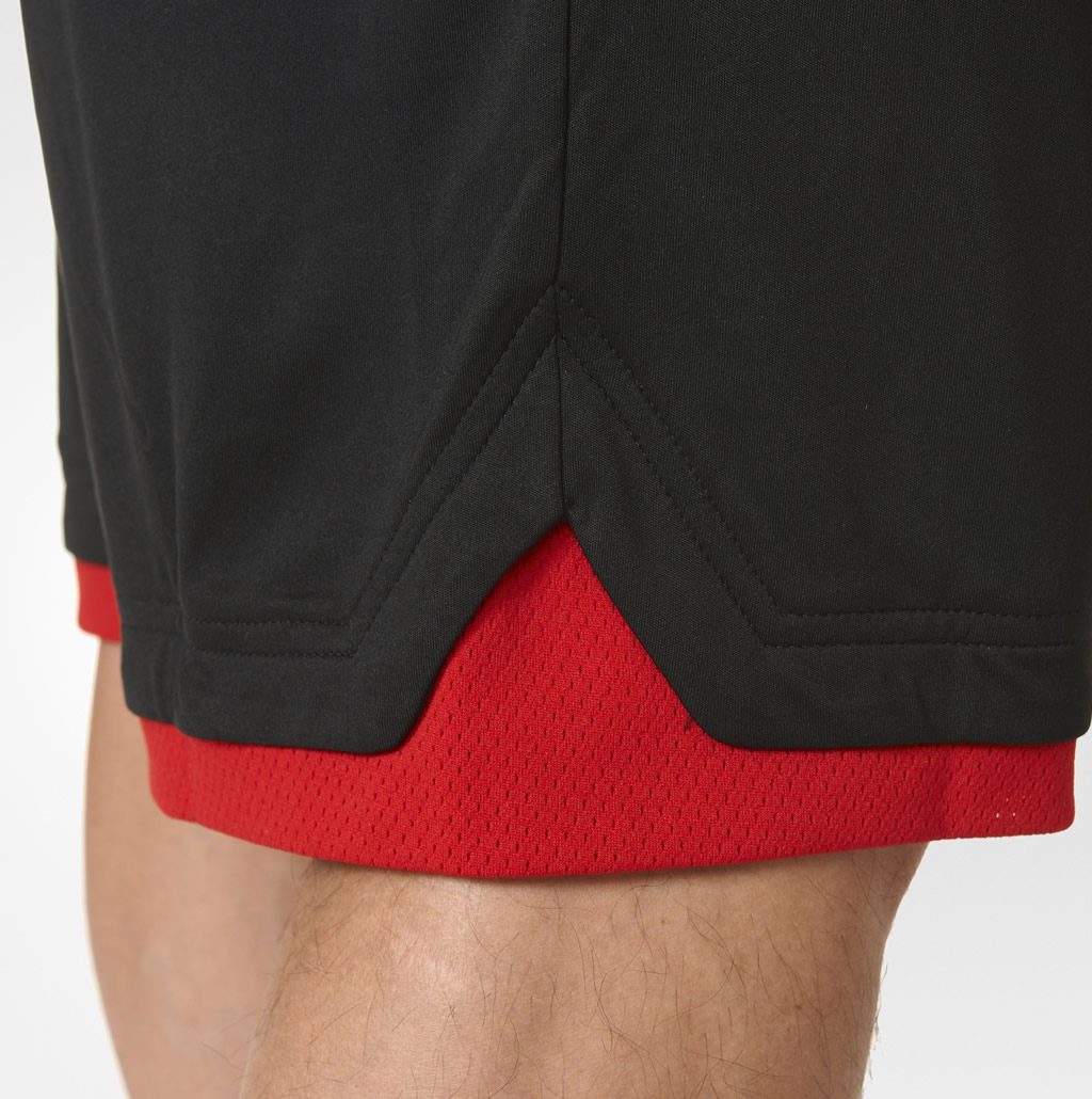 Red 365 Speed Shorts By Adidas, Details