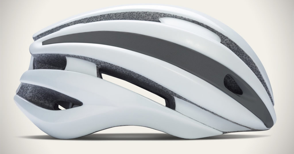 White Cycling Helmet By Rapha