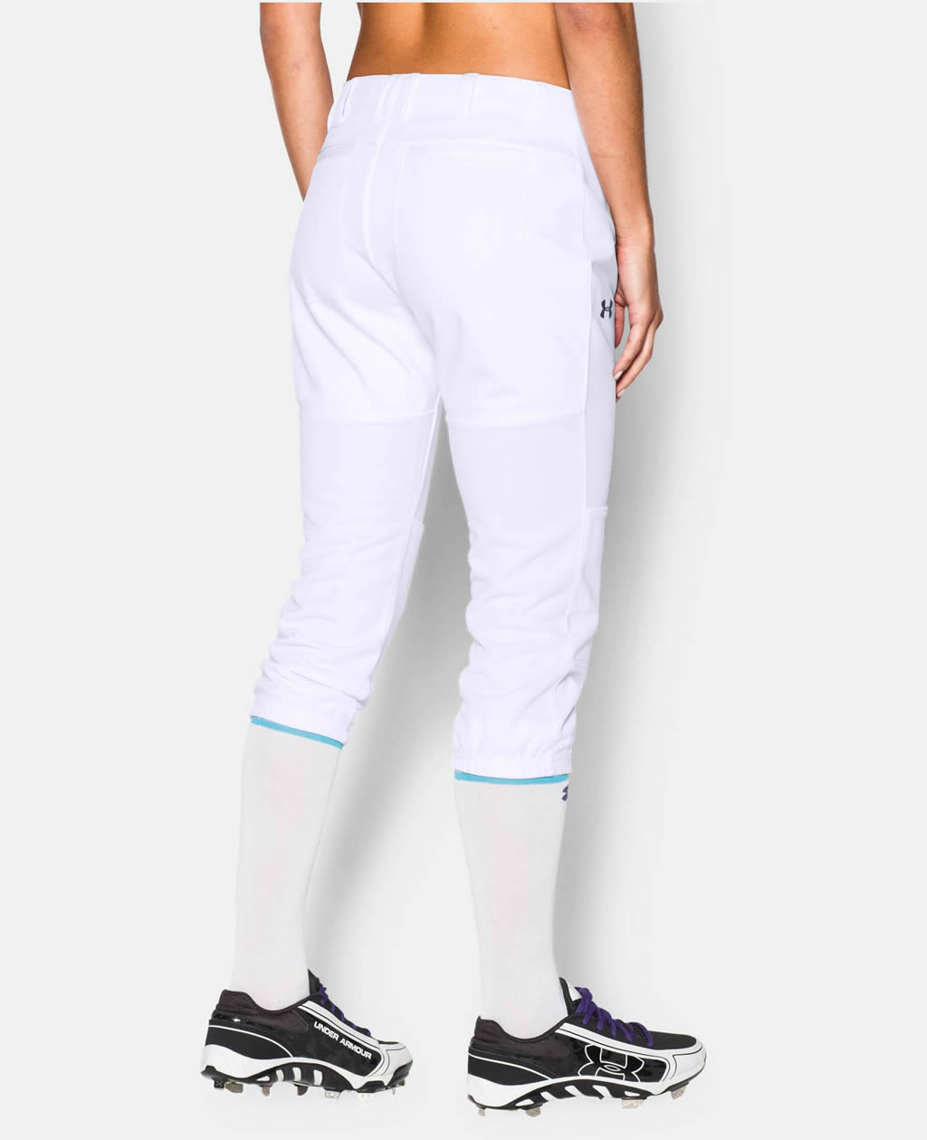 White Women's Strike Zone Pant By UA