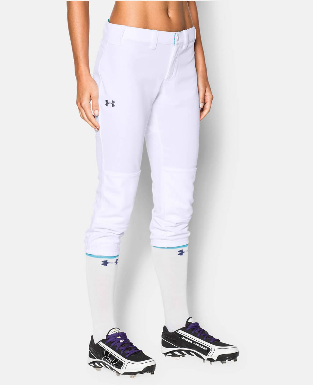 White Women's Strike Zone Pant By Under Armour