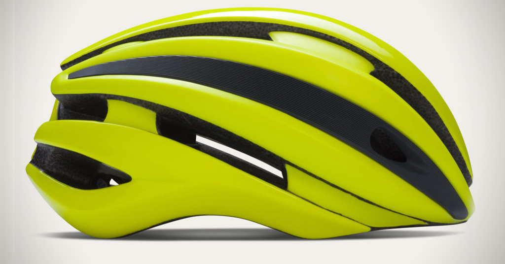 Yellow Cycling Helmet By Rapha
