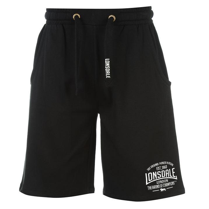 Black Box Lightweight Shorts For Men By Lonsdale, Back
