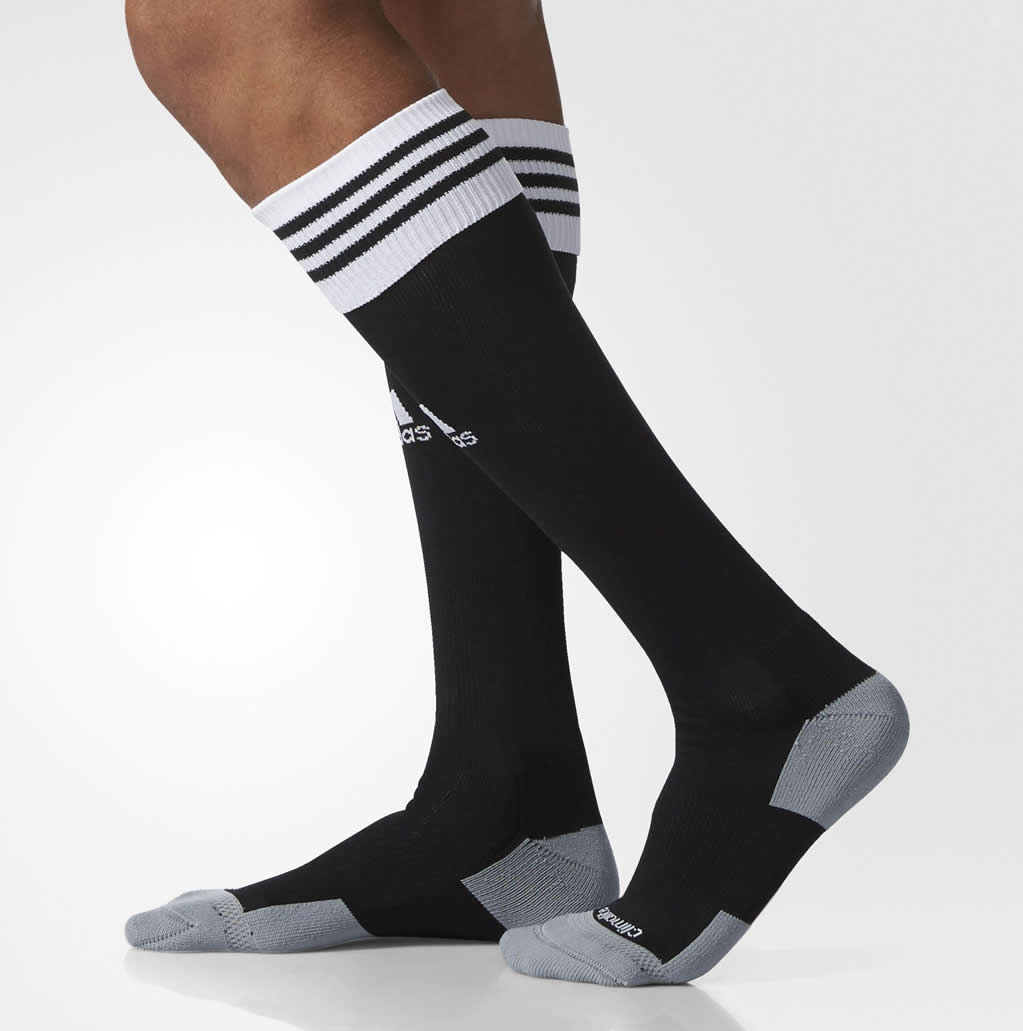 Black Copa Zone Cushion Soccer socks by adidas