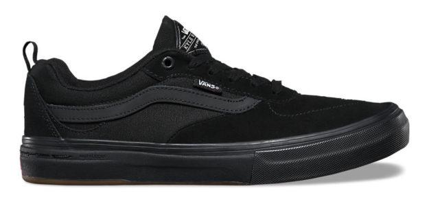 Black Kyle Walker Pro Skateboard Shoes By Vans