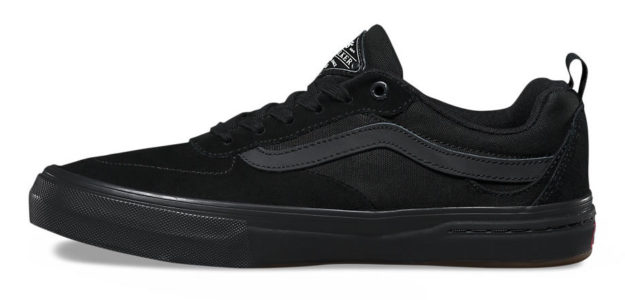 Black Kyle Walker Skateboard Shoes By Vans