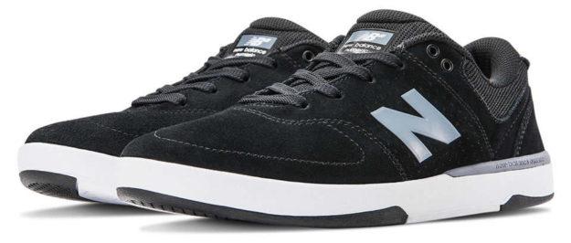 Black PJ Stratford 533 Men's Skateboarding Shoes