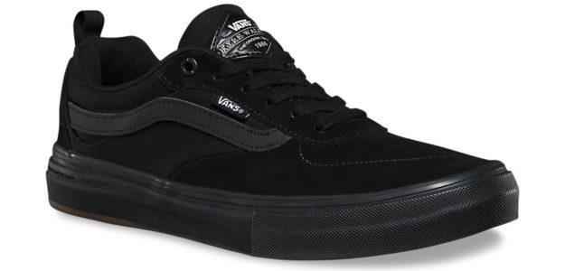 Black Vans Kyle Walker Pro Skateboard Shoes