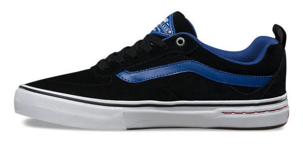 Blue Kyle Walker Skateboard Shoes By Vans