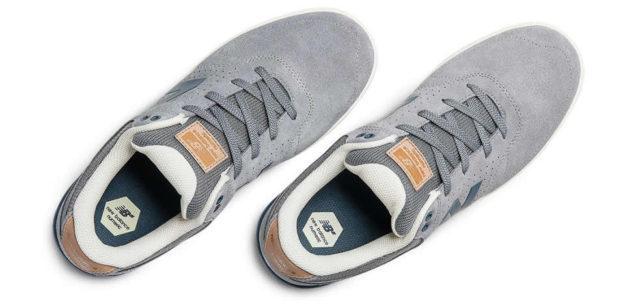 Blue Men's Skateboarding Shoes by New Balance, Sole