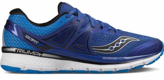 Blue Men's Triumph Iso 3 Sneakers, Side