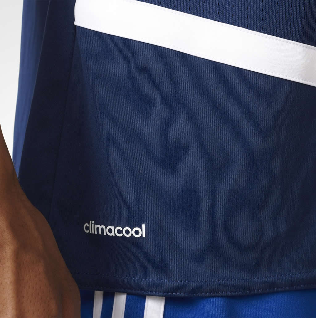 Blue Regista 16 DRYDYE by adidas, Fabric