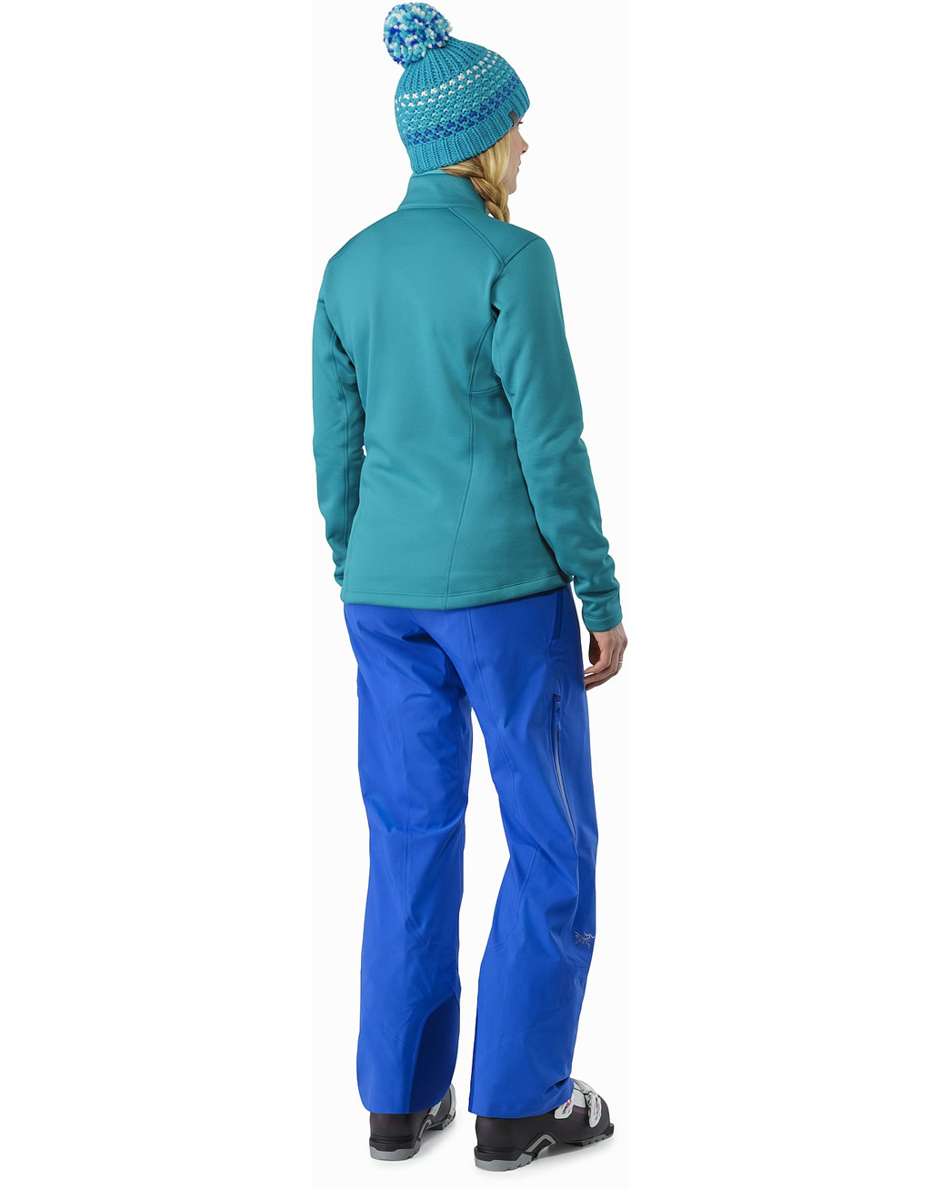 Blue Stingray Pant for Women's by Arc'teryx, Back