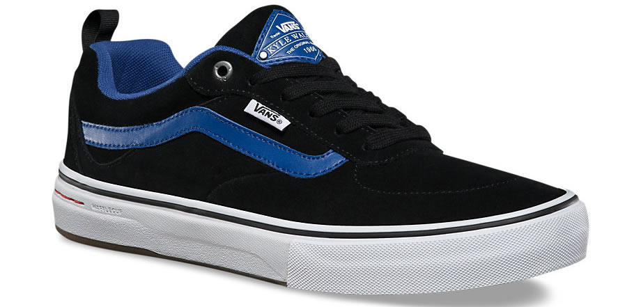 Blue Vans Kyle Walker Pro Skateboard Shoes