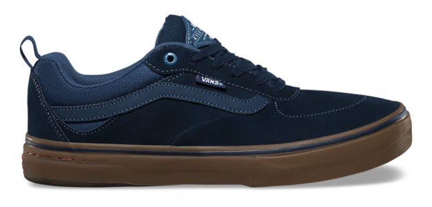 Blues Kyle Walker Pro Skateboard Shoes By Vans