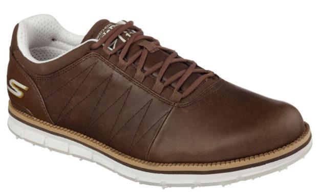Brown Skechers GO GOLF Elite Shoes For Men