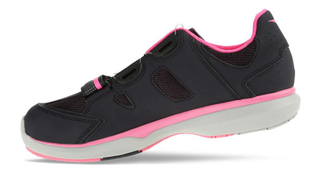 Diadora Pink Women's indoor cycling shoes