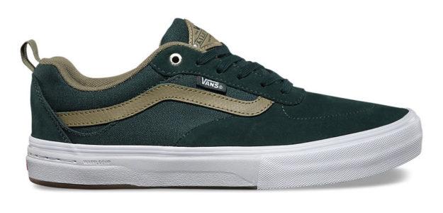 Green Kyle Walker Pro Skateboard Shoes By Vans