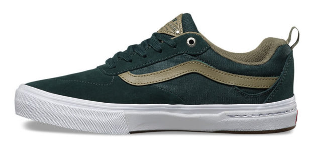 Green Kyle Walker Skateboard Shoes By Vans