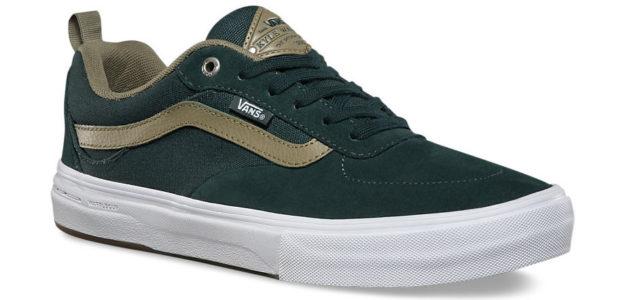 Green Vans Kyle Walker Pro Skateboard Shoes