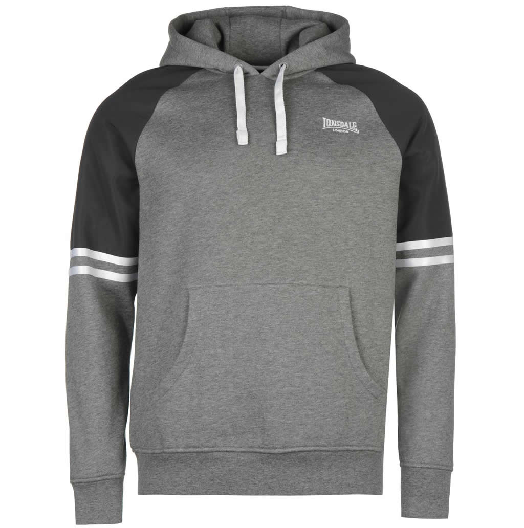 Heavy Over The Head Hoodie For Men By Lonsdale