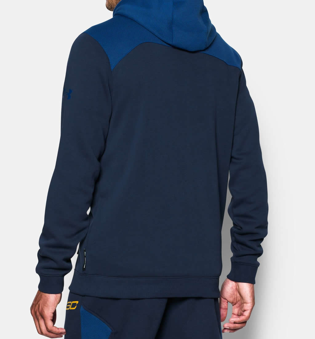Navy Basketball hoodie by Under Armour