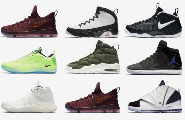 Nike's Basketball 12 Soles Collection