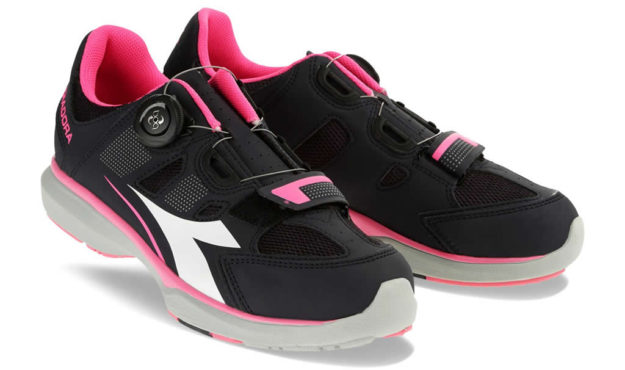 Pink Women's indoor cycling shoes
