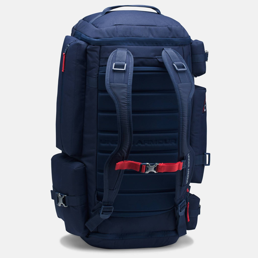Project Rock Range Duffle by Under Armour, Back