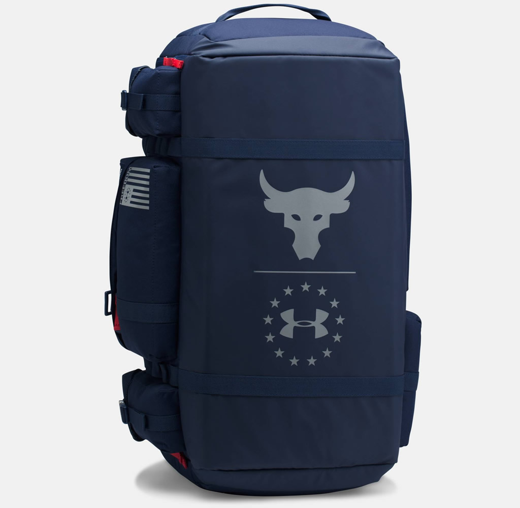 Project Rock Range Duffle by Under Armour