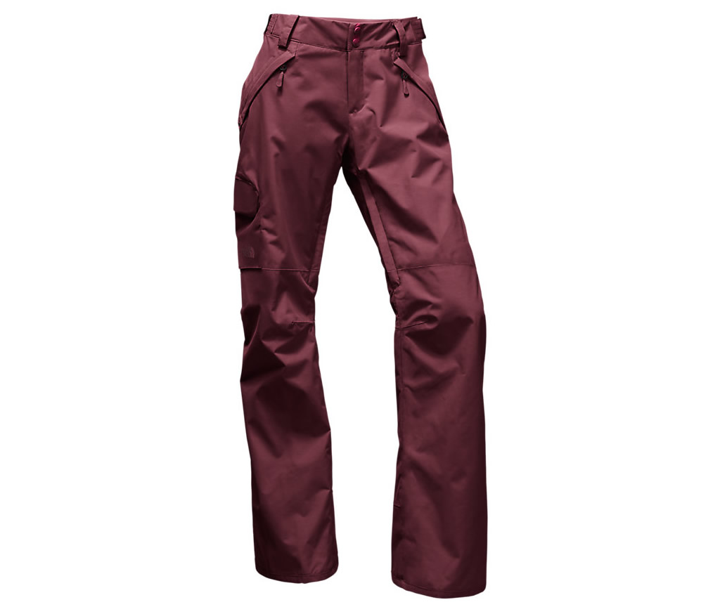 Red The North Face Freedom LRBC Insulated Pants