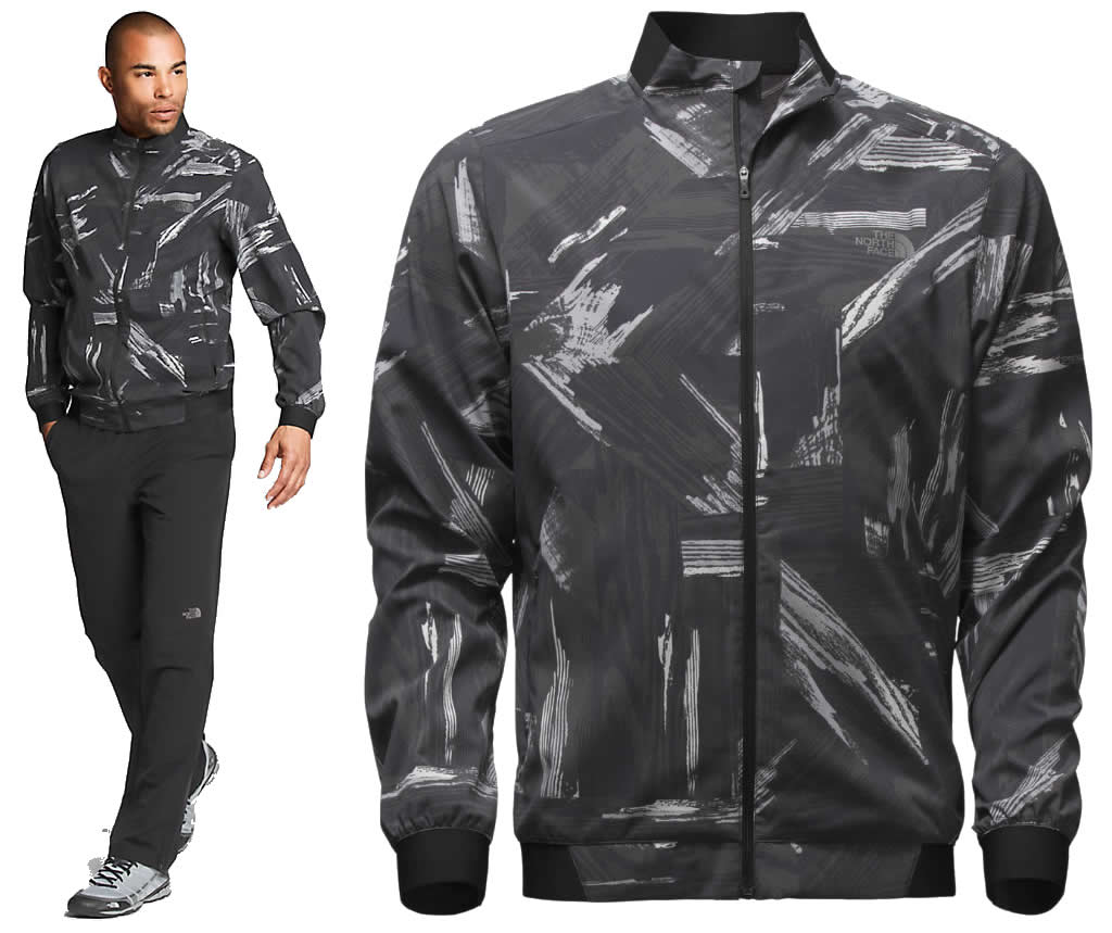 Reflective running jacket for men By The North Face