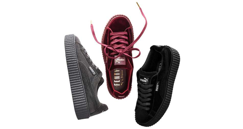 Rihanna and PUMA Velvet Creeper