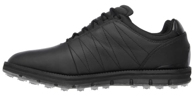 Skechers Black GO GOLF Elite Shoes For Men, Side