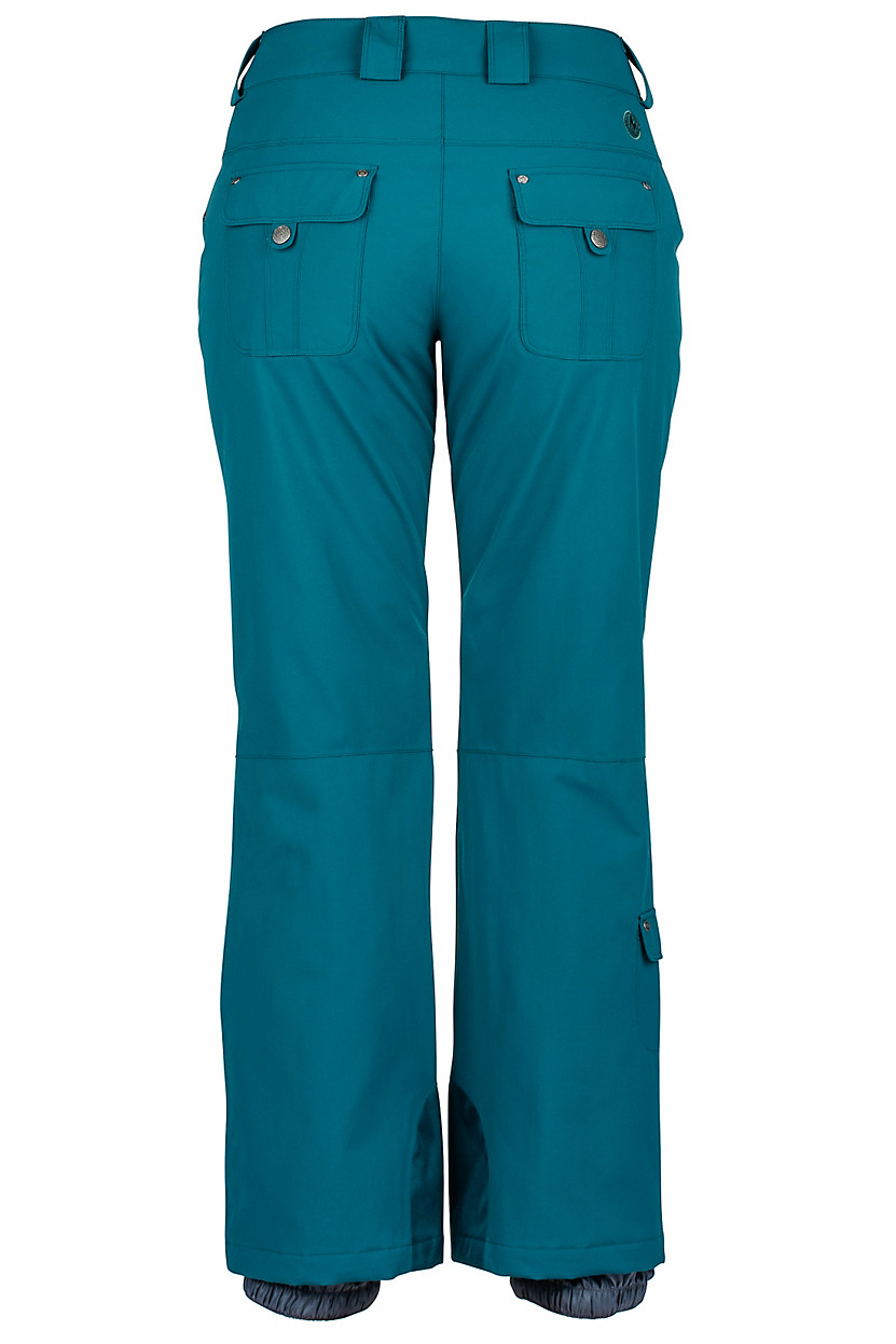 Teal Skyline Insulated Pant for Women by Marmot