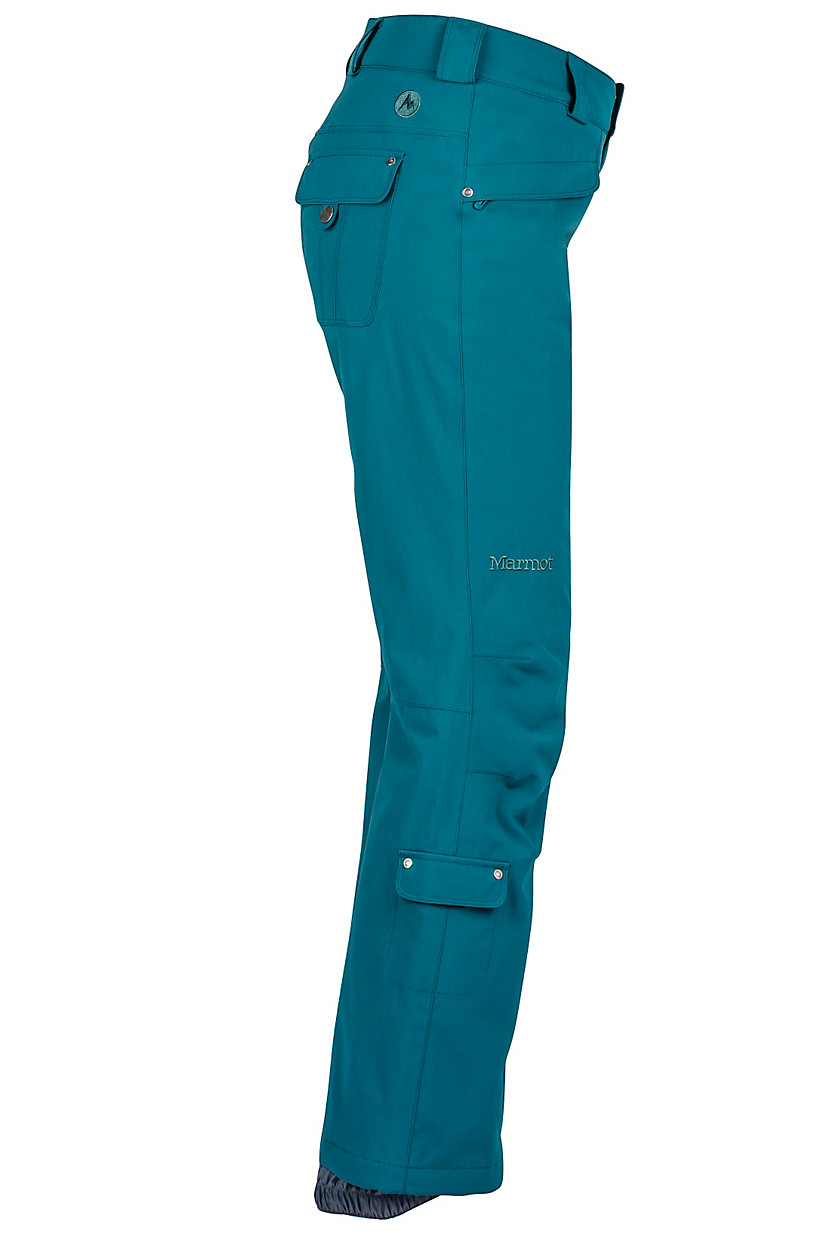Teal Women's Skyline Insulated Pant by Marmot, Side