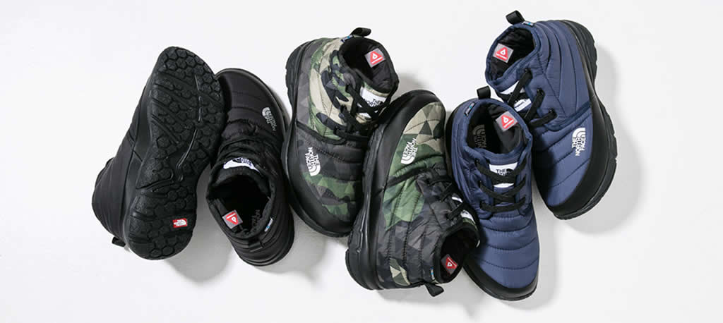 The North Face Nuptse Bootie Collection