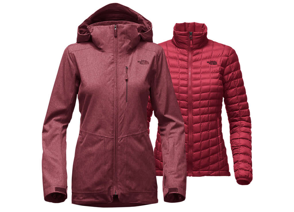 The North Face ski jacket for women