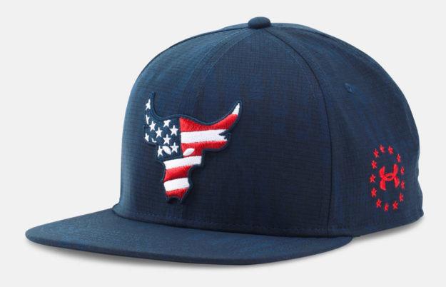 UA x Project Rock Freedom Snapback Cap