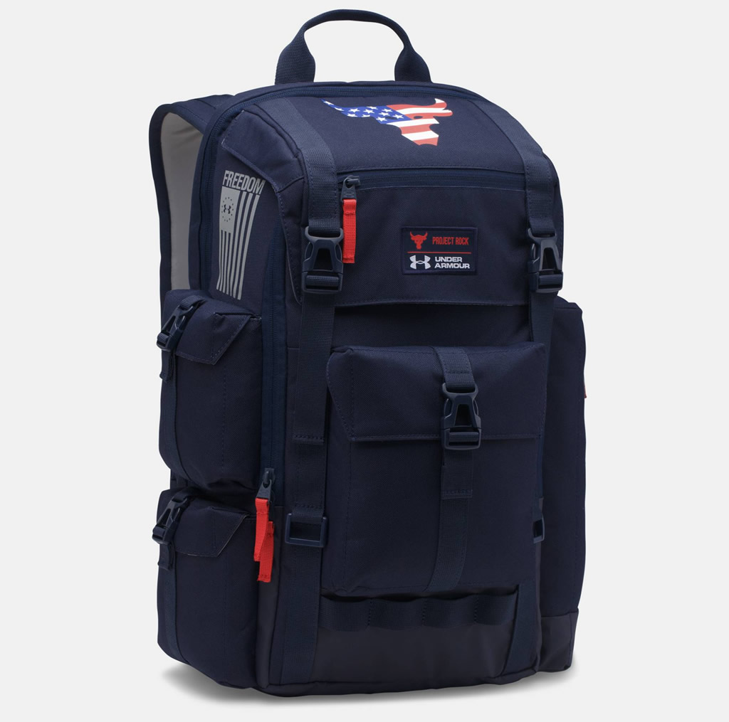 Under Armour and Project Rock Backpack
