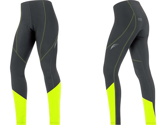 Winter cycling tights for women