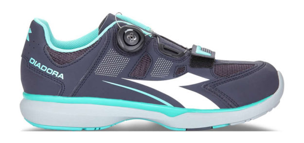 Women's indoor cycling shoes by Diadora