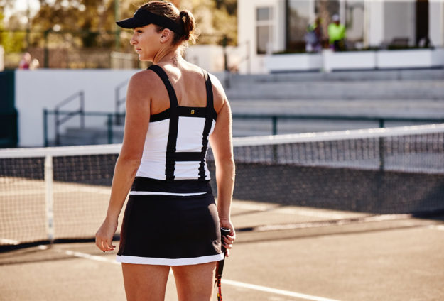 Women's tennis collection by FILA