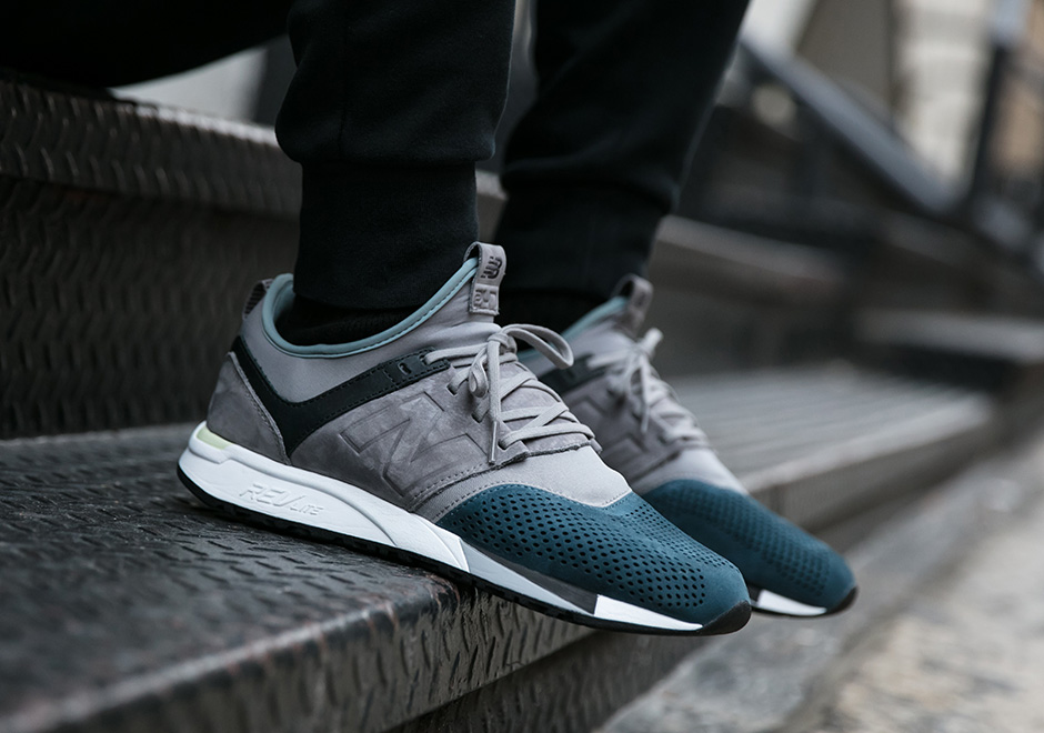 new balance 247 taupe and teal
