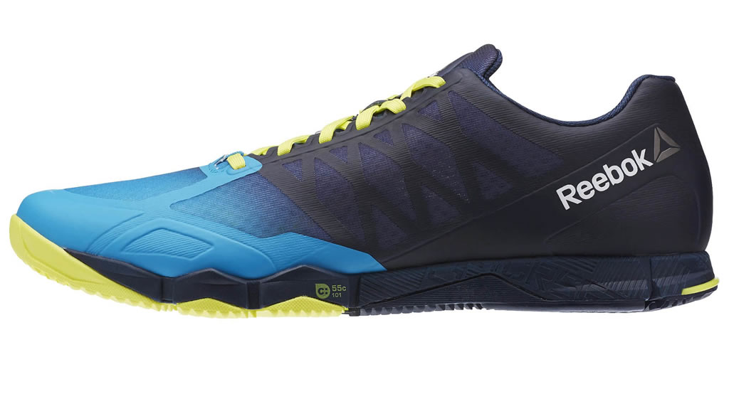 Blue Crossfit Speed TR Shoes For Men By Reebok