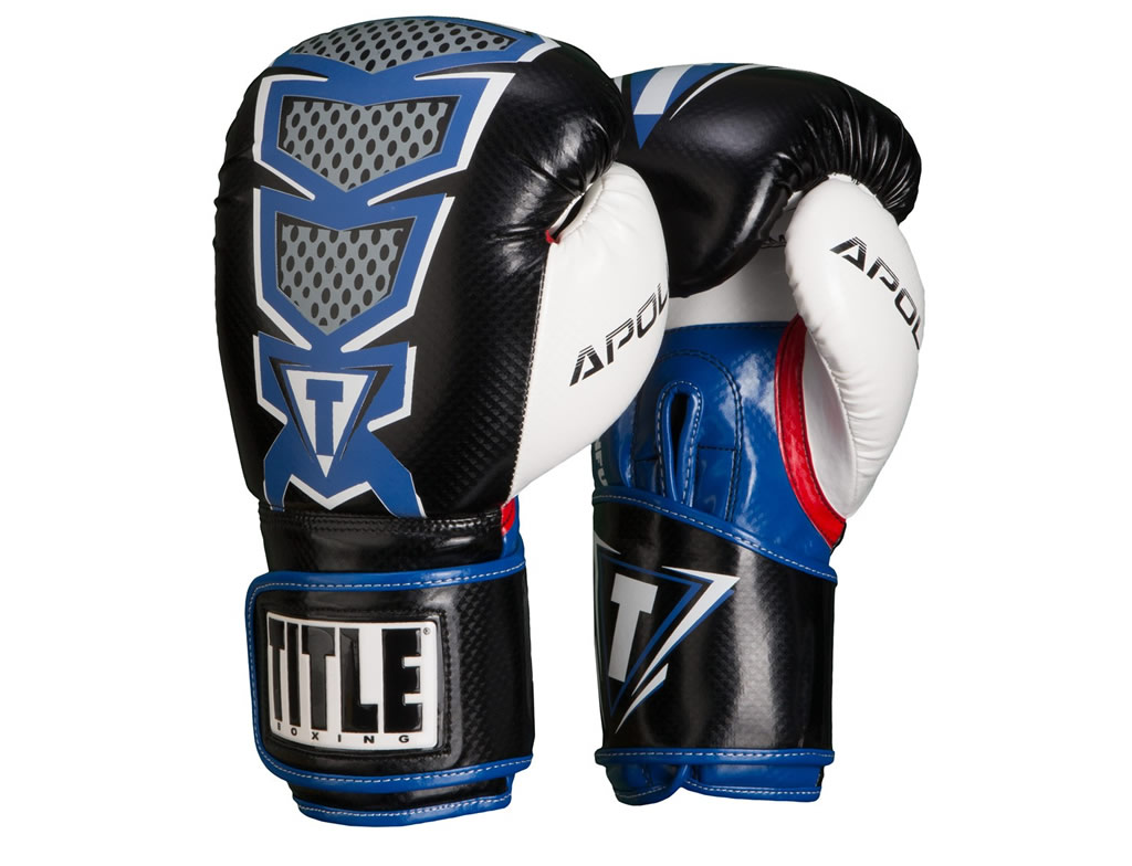 Blue TITLE Infused Foam Apollo Bag Gloves